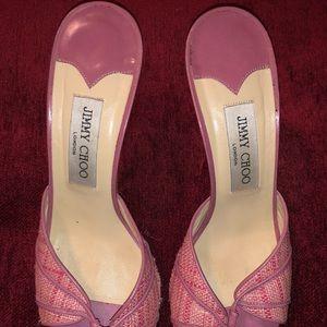 Jimmy choo heel slides